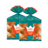 Two packs of King's Hawaiian Original Hawaiian Sweet Slider Buns (Pre Sliced) 9ct