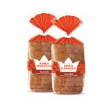 Two pack of King's Hawaiian Original Hawaiian Sweet Sliced Bread 1lb