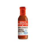 Bottle of King's Hawaiian Smoked Bacon BBQ Sauce 14.8oz