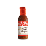 Bottle of King's Hawaiian Sweet Island Ginger Sauce 14.3oz