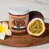 irresistible jar of Maui Upcountry Lilikoi Jelly 7.5oz