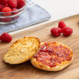 original hawaiian sweet english muffin with jam