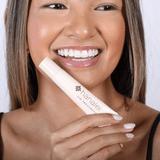 CLEAR Hanalei Lip Treatment on Womans Lips