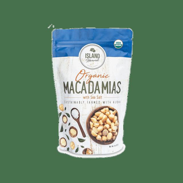 Island Harvest Organic Macadamia Nuts - Salted
