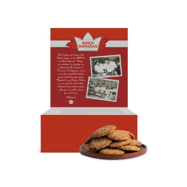 Apple Spice Crunch Cookies, 10 oz