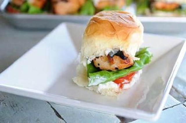 Aloha Chicken Sliders