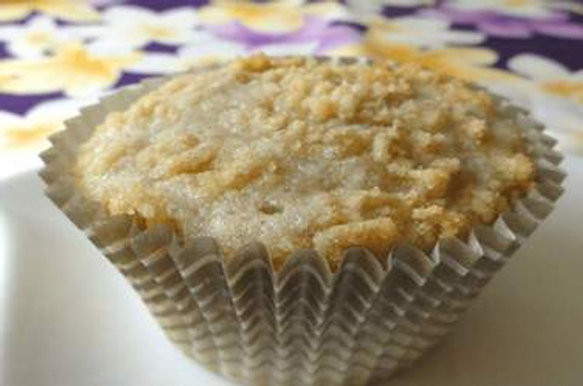 Poi Muffins With Sweet Bread Streusel