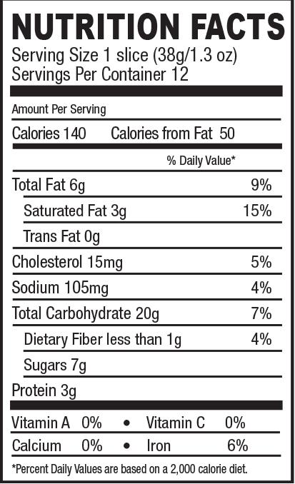 Nutrition statement
