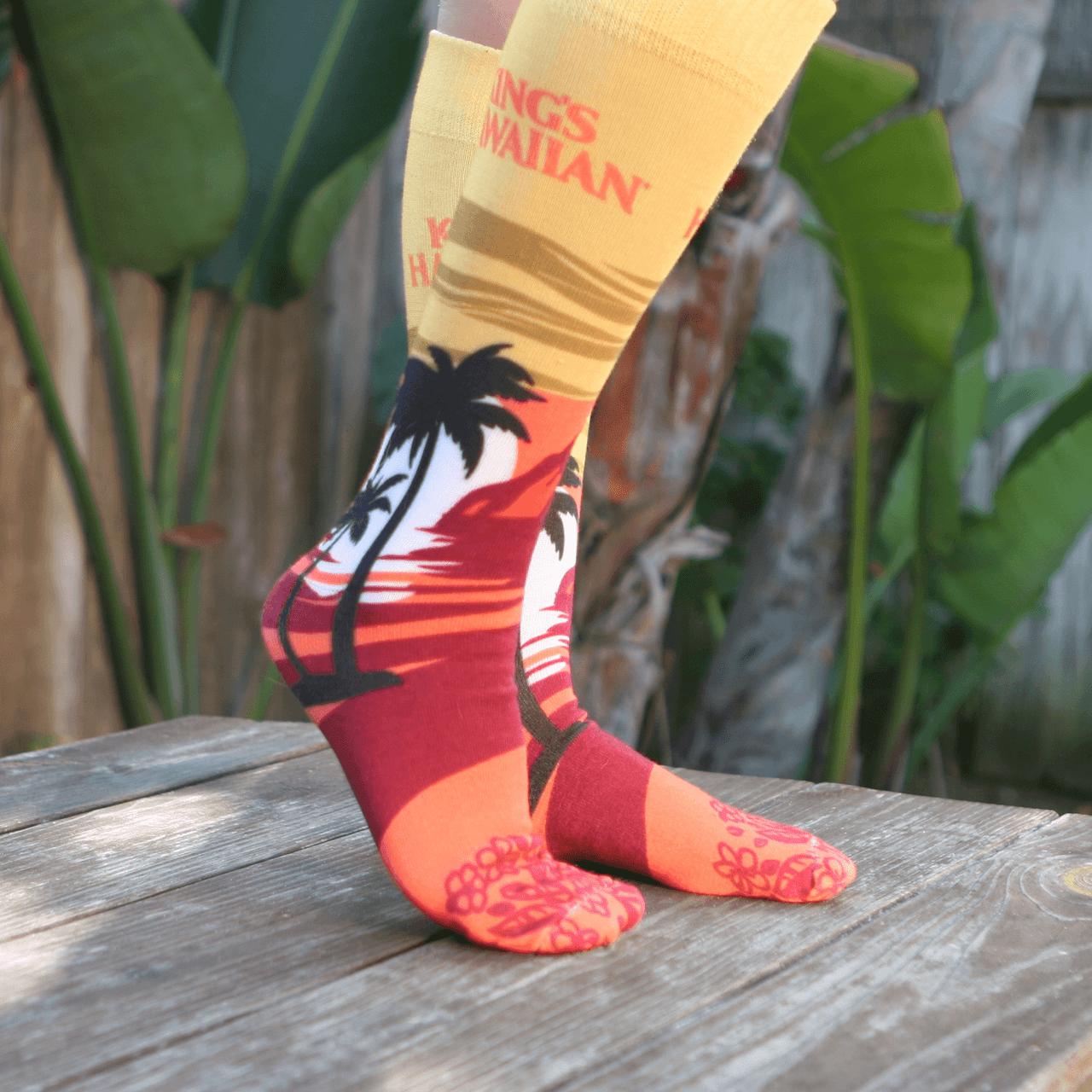 KING'S HAWAIIAN® Sunset Socks