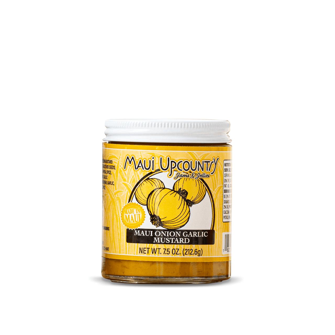 Maui Upcountry Maui Onion &  Garlic Mustard, 7.5 oz
