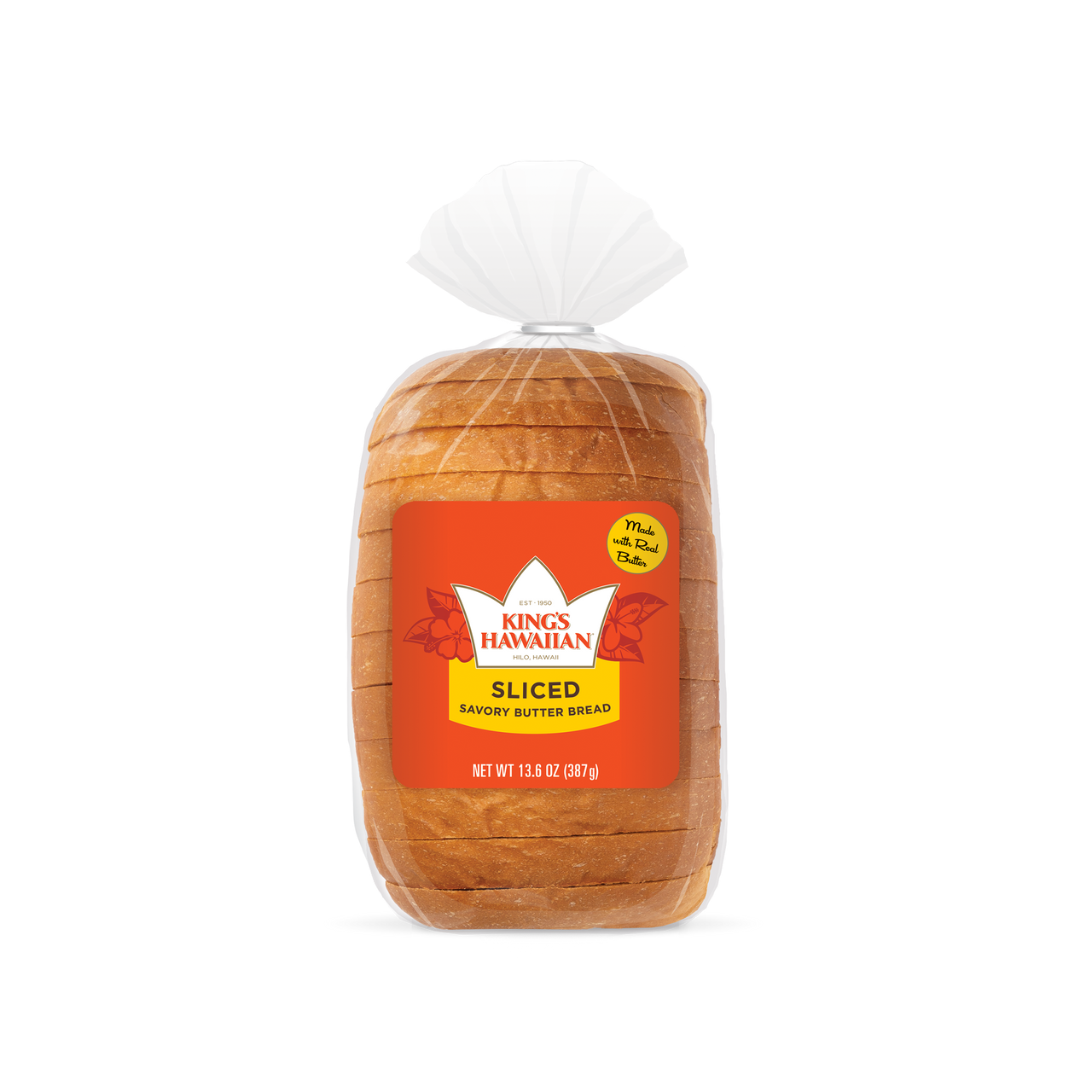 SAVORY BUTTER SLICED BREAD, 1 PACK