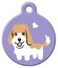 Dog Tag Art Petit Basset Griffon Doggie Pet ID Dog Tag