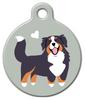 Dog Tag Art Bernese Mountain Dog Doggie Pet ID Dog Tag