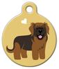 Dog Tag Art Leonberger Doggie Tag Pet ID Dog Tag
