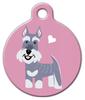 Dog Tag Art Schnauzer Doggie Pet ID Dog Tag