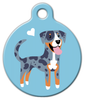 Dog Tag Art Catahoula Doggie Pet ID Dog Tag