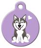 Dog Tag Art Klee Kai Doggie Pet ID Dog Tag