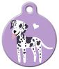 Dog Tag Art Dalmatian Doggie Pet ID Dog Tag