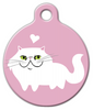Dog Tag Art Persian Kitty Cat Pet ID Dog Tag
