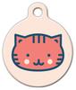 Dog Tag Art Sweet Kitty Face Pet ID Dog Tag