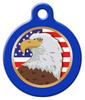 Dog Tag Art American Eagle Pet ID Dog Tag