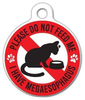 Dog Tag Art Megaesophagus Do Not Feed Cat Pet ID Dog Tag