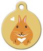 Dog Tag Art Netherland Dwarf Bunny Pet ID Dog Tag