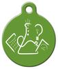 Dog Tag Art Science Fair Logo Pet ID Dog Tag