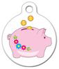 Dog Tag Art Piggy Bank Pet ID Dog Tag