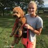 Sammy wearing Coastal Pet Slip Rope Dog Leash