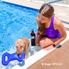 Lots of fun in the pool with Rascals Fetch Tug Toy with our pals Cailin and Mylo