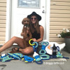 Kona and his Mom love the Rascals Fetch Dog Toys