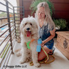 hamiltonnharper and his mom look happy wearing coastal pet pro reflective harness leash and collar