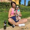Maggie wearing Coastal Pet Pro Reflective Dog Harness