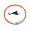 Coastal Pet USB Light Up neck Ring Orange