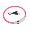 Coastal Pet USB Light Up neck Ring Pink