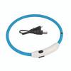 Coastal Pet USB Light Up neck Ring Blue