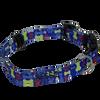 Coastal Pet SecureAway™ Flea Collar Protector With Personalization Multi Bones Blue