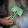 Safari® Curved Firm Slicker Long Hair Dog Brush how to use