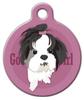 Dog Tag Art Good Girl Shih Tzu Pet ID Dog Tag
