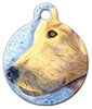 Dog Tag Art Yellow Lab Pet ID Dog Tag