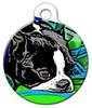 Dog Tag Art Pensive Boy Pet ID Dog Tag
