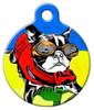 Dog Tag Art Thrashatude Pet ID Dog Tag