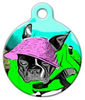 Dog Tag Art The Diva Pet ID Dog Tag