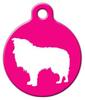 Dog Tag Art Shetland Sheepdog Pet ID Dog Tag