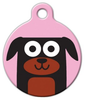 Dog Tag Art Rottweiler Girl Pet ID Dog Tag