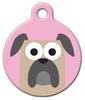 Dog Tag Art Mastiff Girl Pet ID Dog Tag