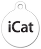 Dog Tag Art iCat Pet ID Dog Tag