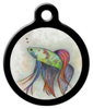 Dog Tag Art Beatty the Betta Pet ID Dog Tag