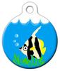 Dog Tag Art Lil' Angel Fish Pet ID Dog Tag